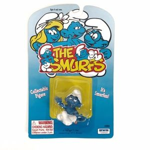 New 1995 Vintage Smurf Collectable Figure